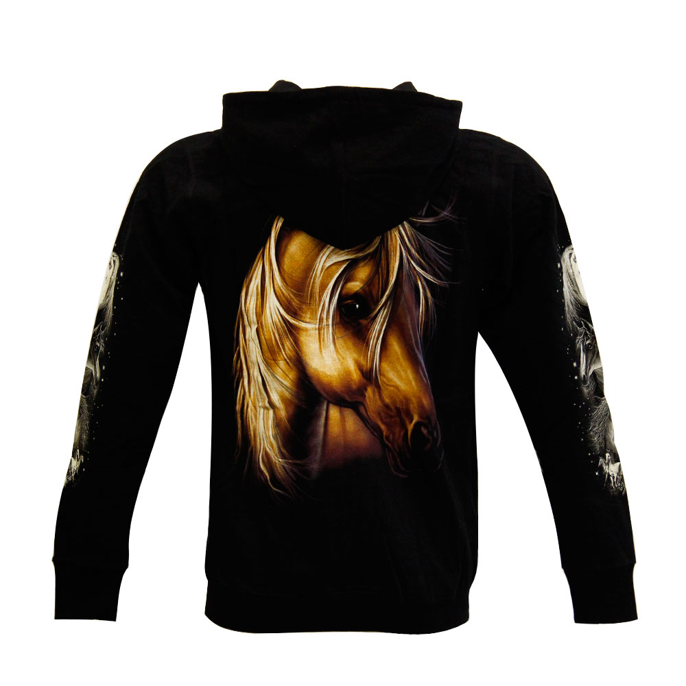 Hoodie with Horse