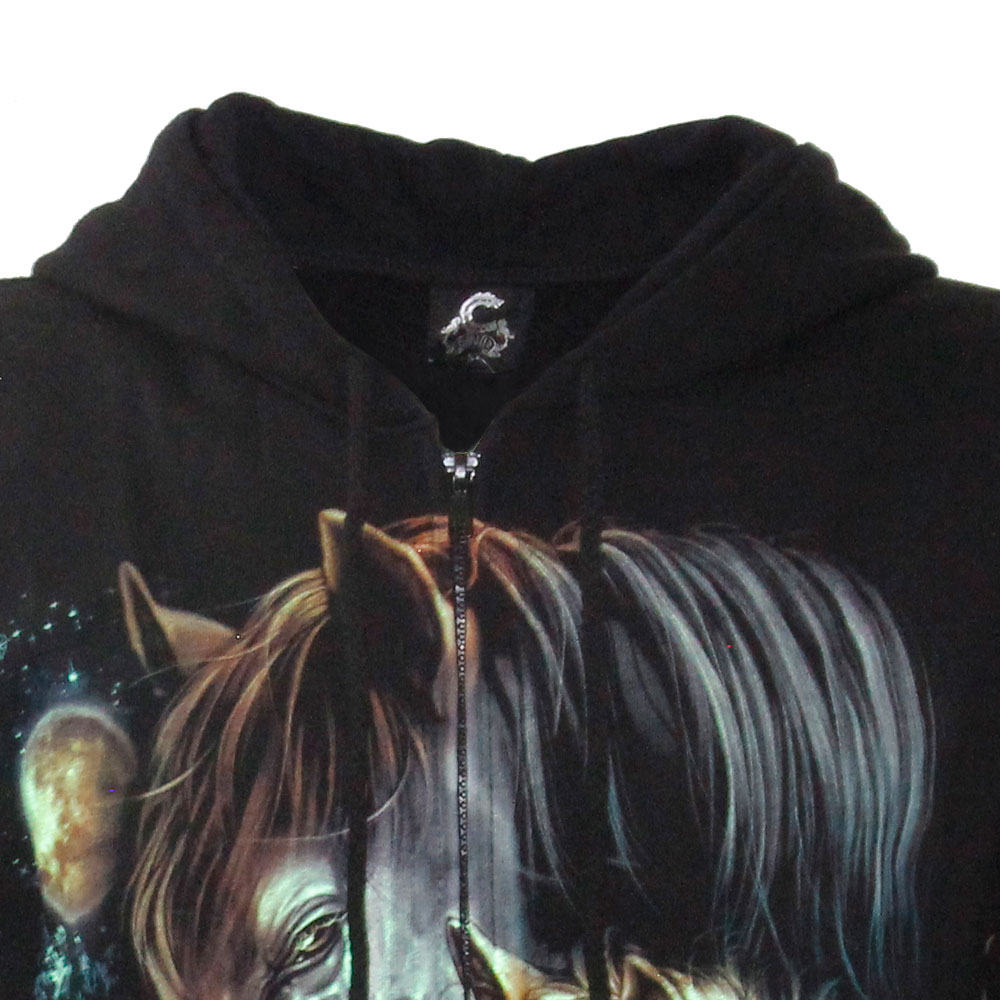 Hoodie with Horse Glow in the Dark