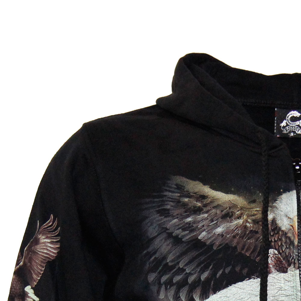 Hoodie Eagle Glow in the Dark