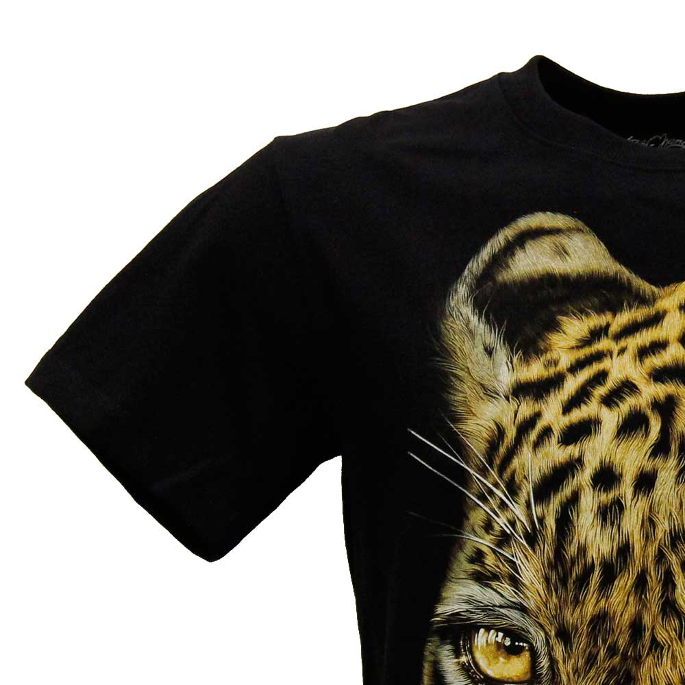 T-shirt Leopard Effect 3D and Noctilucent