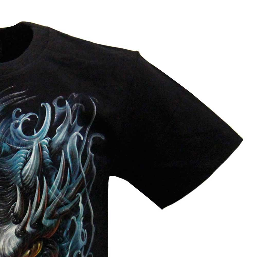 3D T-shirt Dragon Glow in the Dark