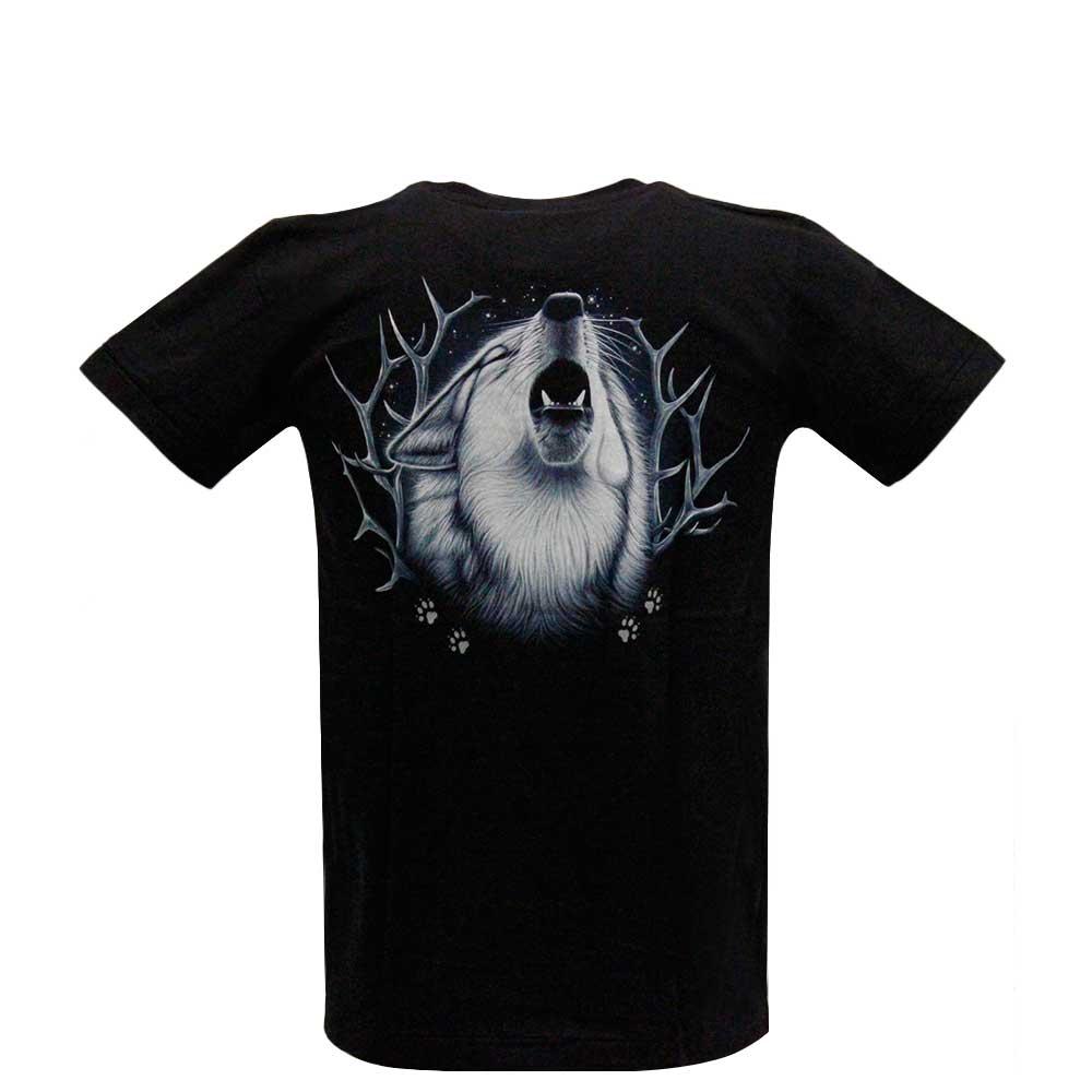 T-shirt Fantasy Wolf