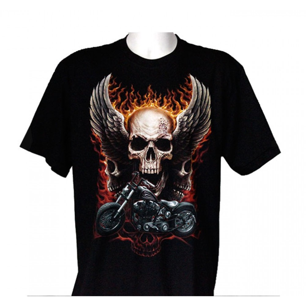 T-shirt Motorcycle with Death