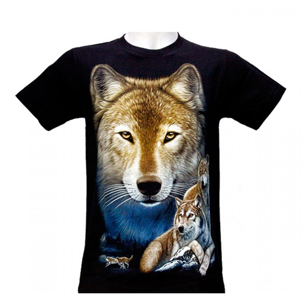 T-shirt Life of Wolves