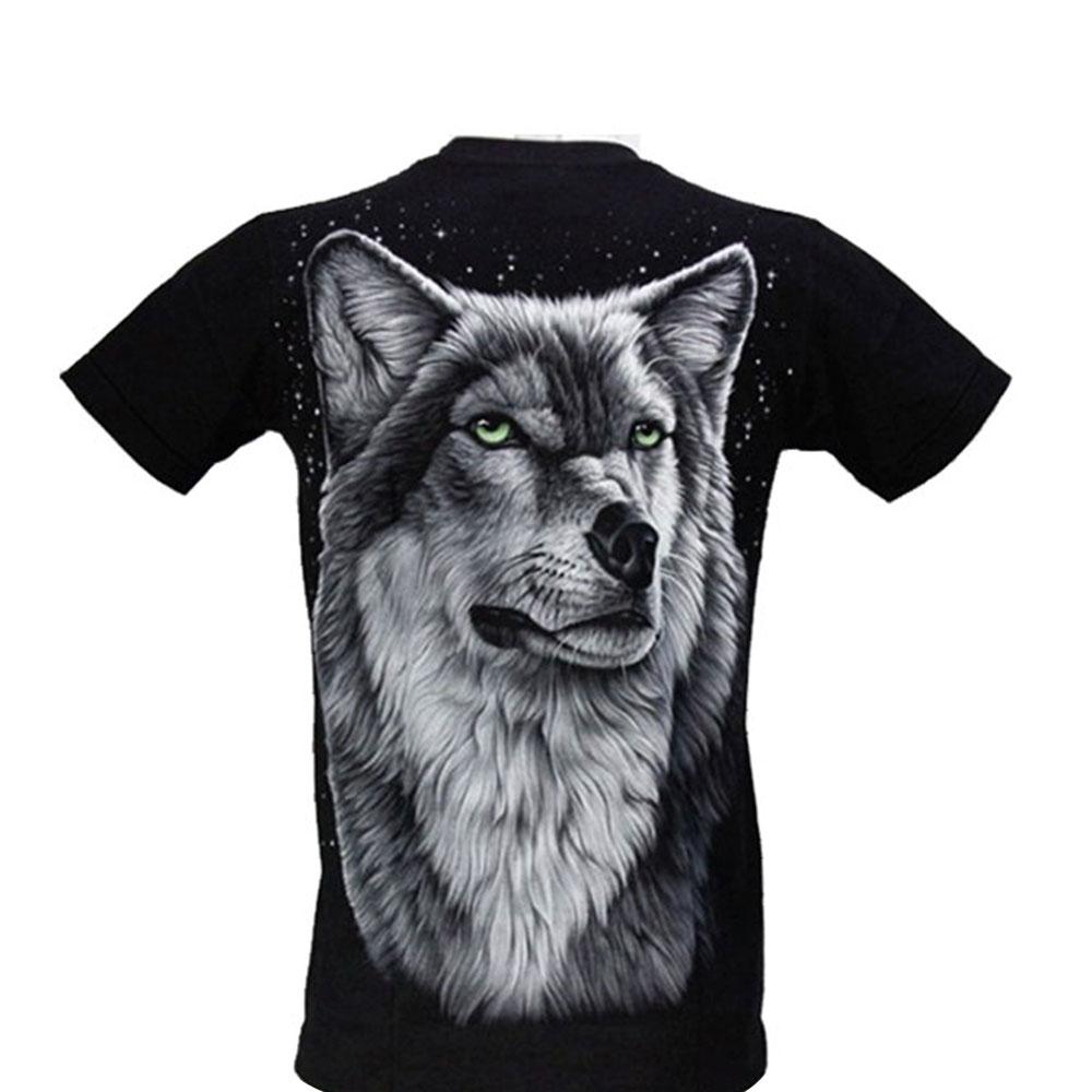 T-shirt Grey Wolf