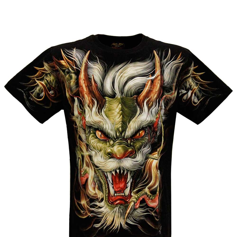 T-shirt F-HD Dragon Head