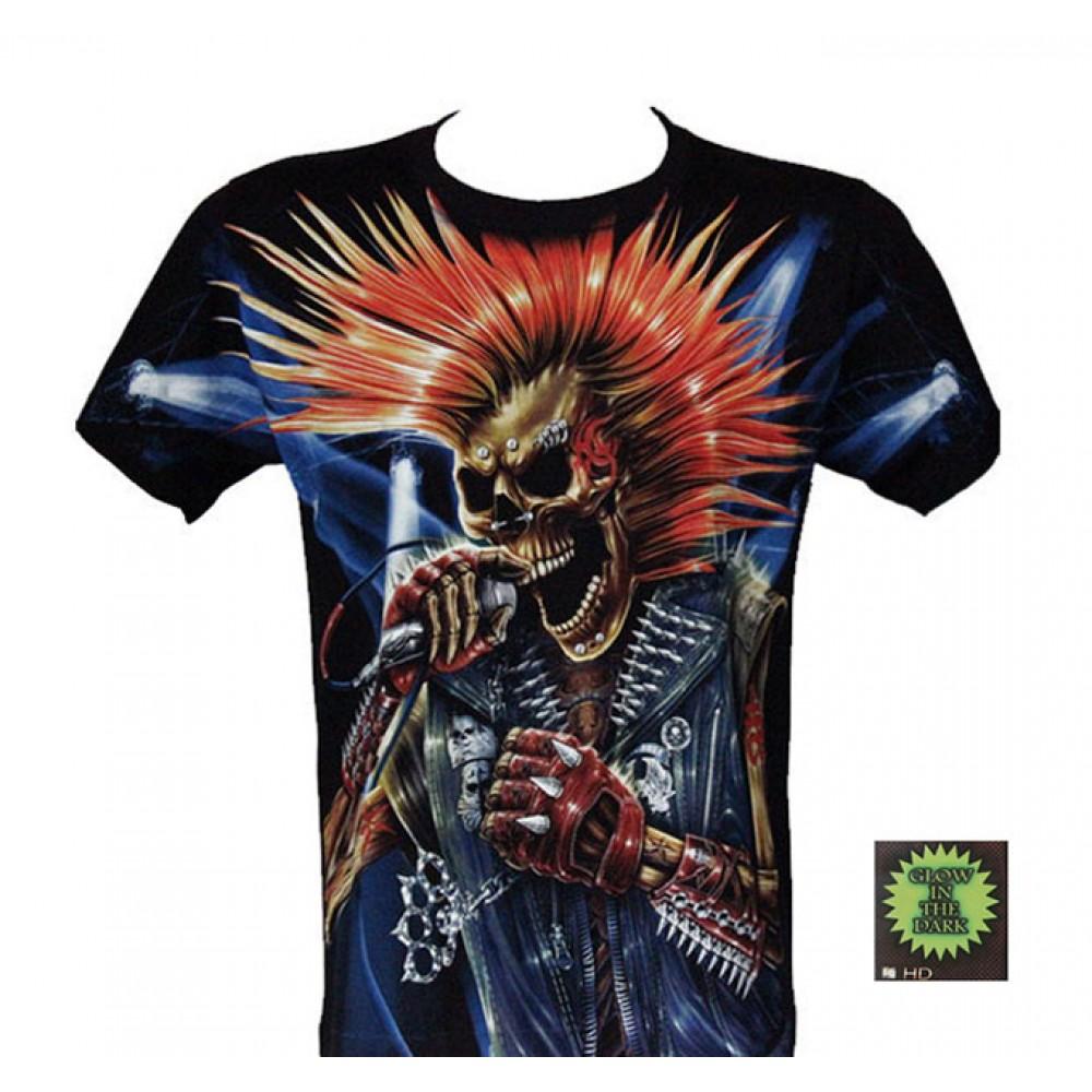 T-shirt F-HD Punk Not Dead
