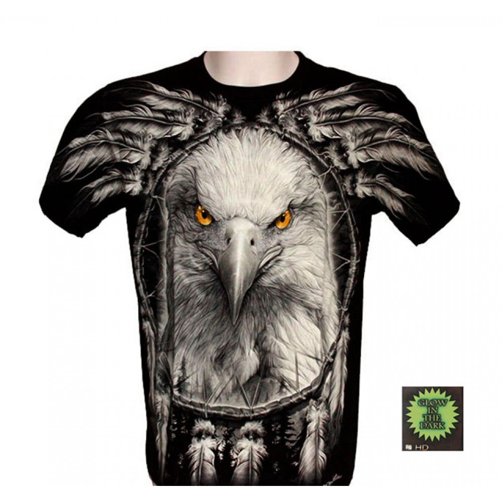 T-shirt F-HD Eagle with Dreamcatcher