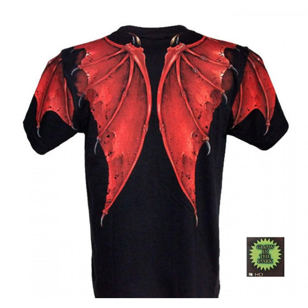 T-shirt F-HD Red  Dragon