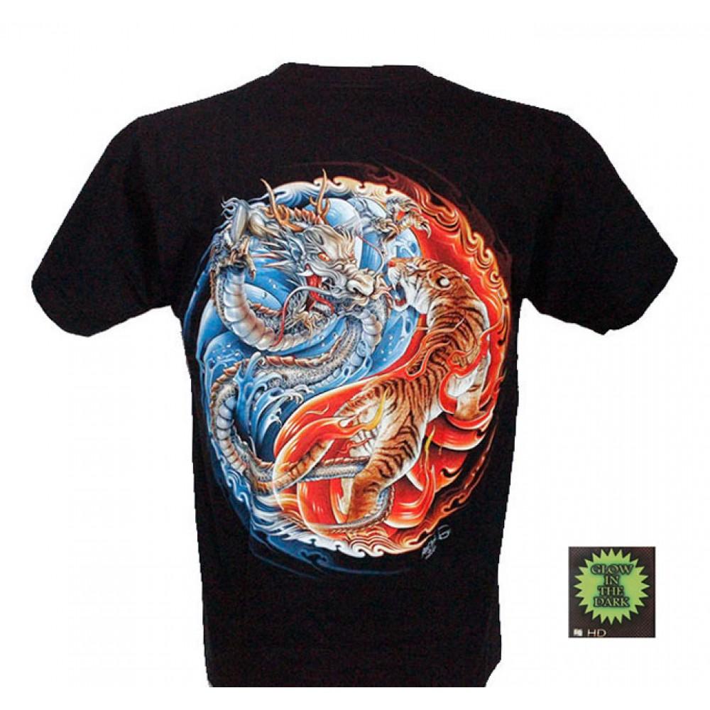 T-shirt F-HD Tiger and Dragon