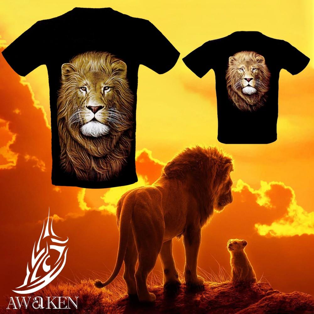 Parent-Child Outfit with LION design