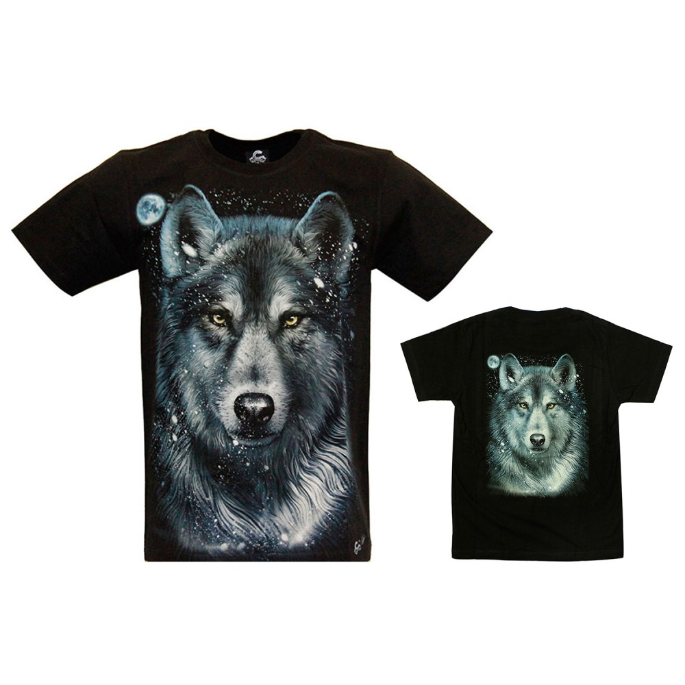 Parent-Child Outfit with WOLF design