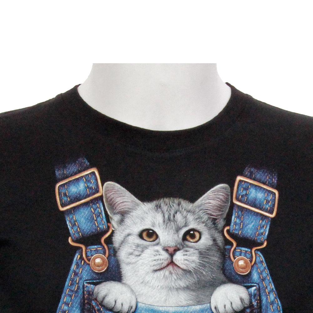 T-shirt Noctilucent Cat Kid