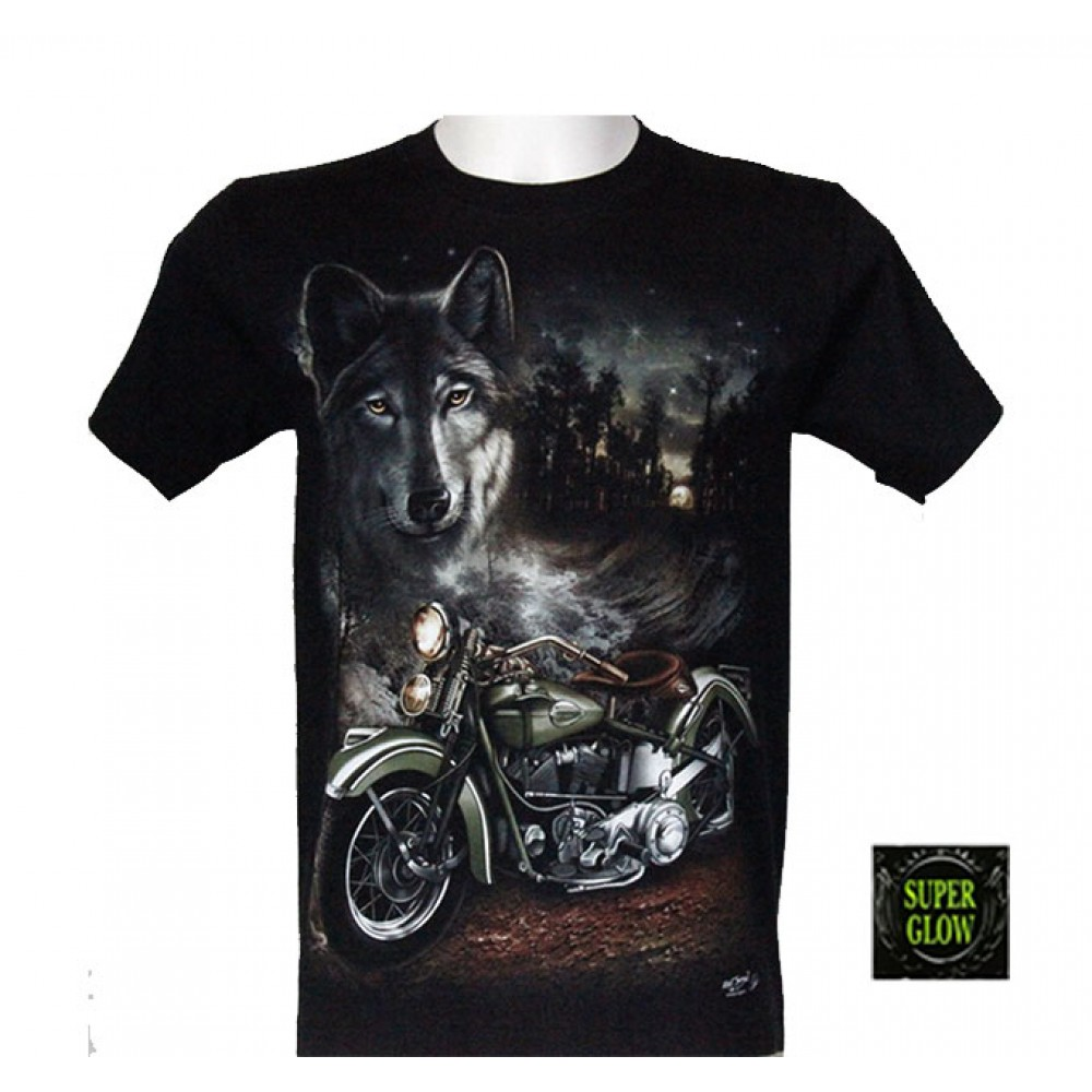 T-shirt Noctilucent Travel in Nature