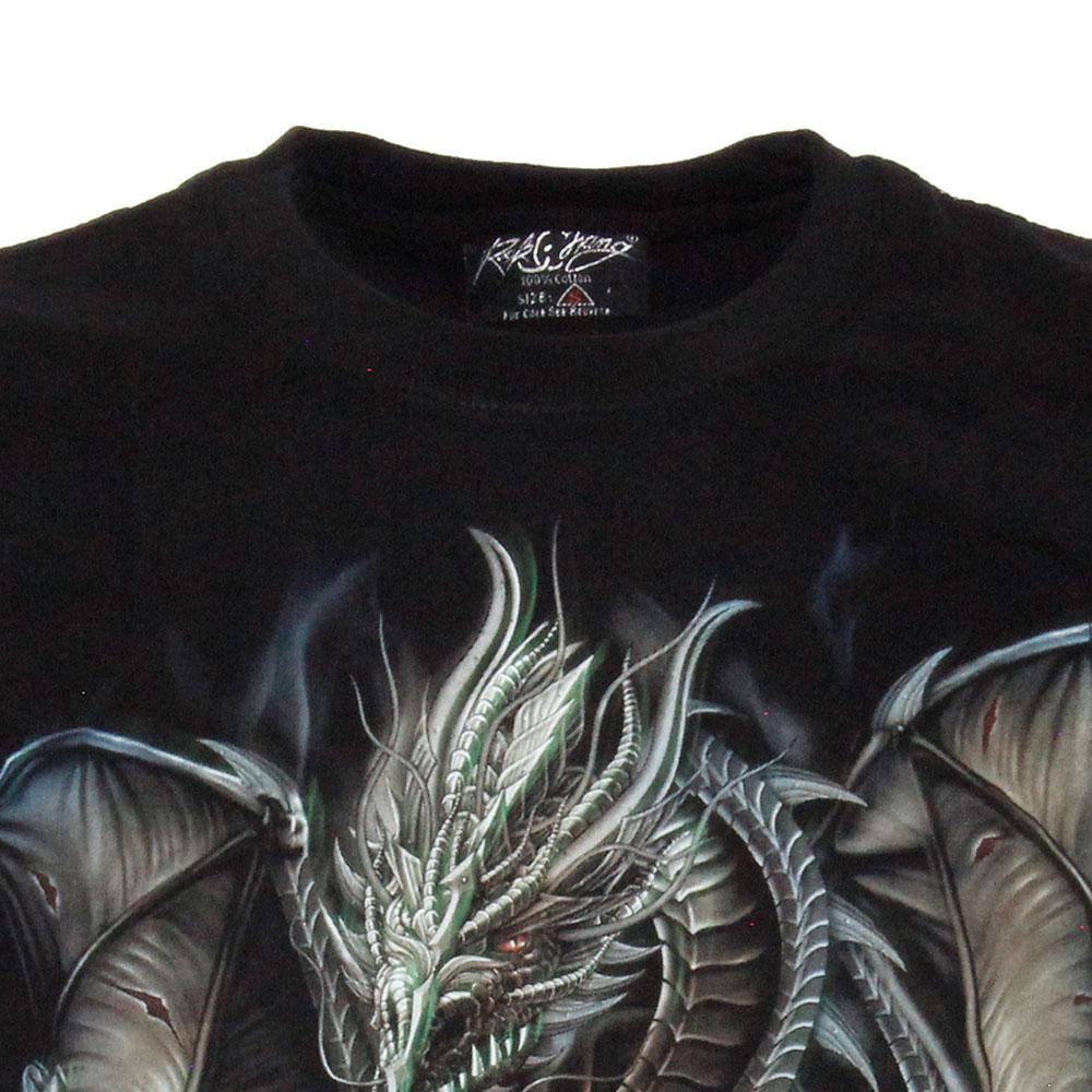 T-shirt Noctilucent Dragon with Sword