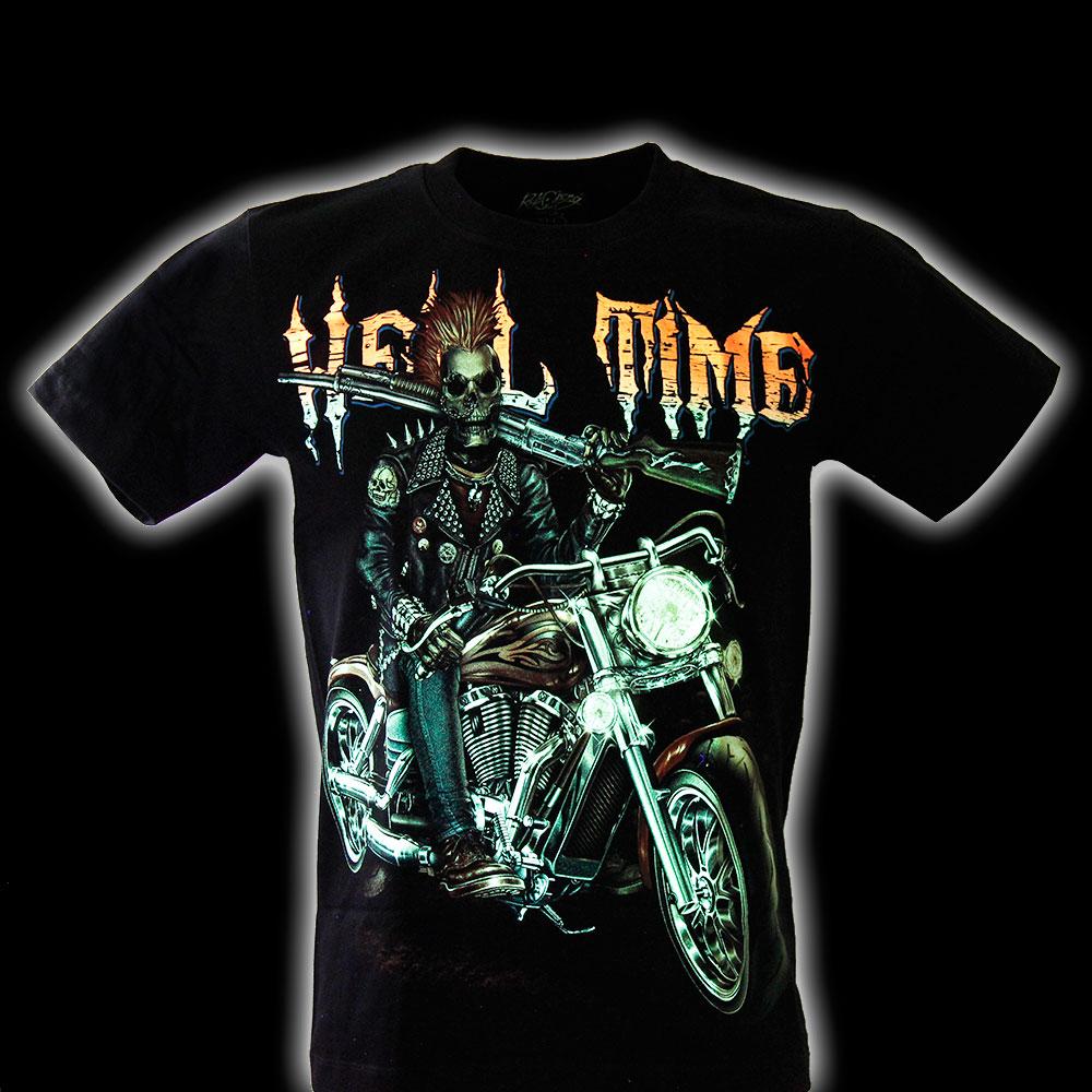 T-shirt Noctilucent Devi's Motorcycle