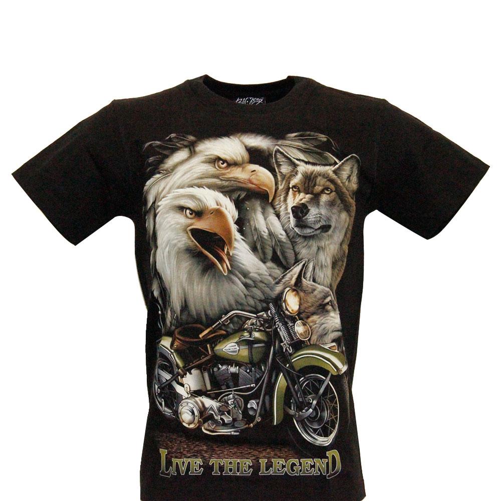 T-shirt Noctilucent Live the Legend