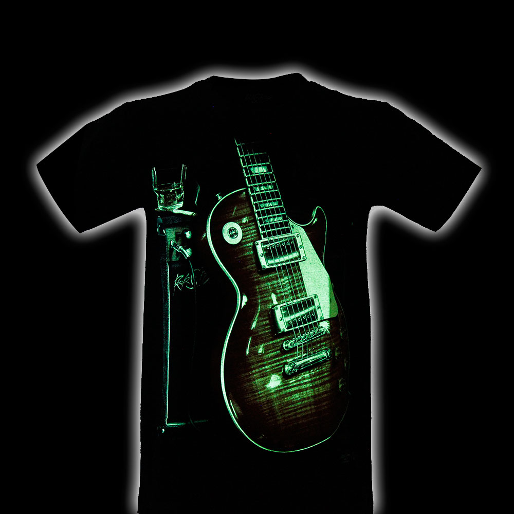 T-shirt Noctilucent Guitar