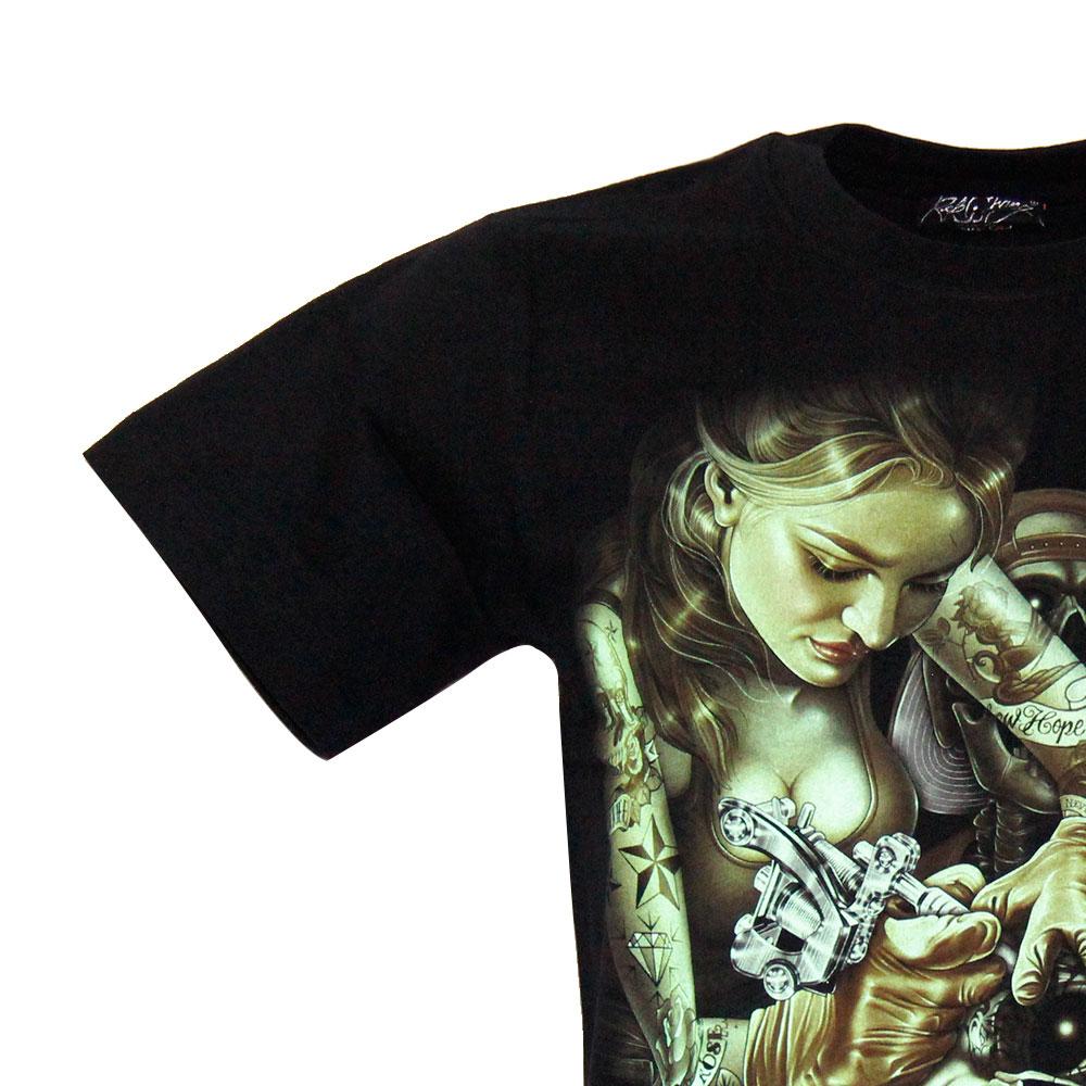 T-shirt Noctilucent Death Tattoo