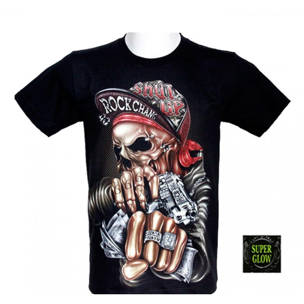 T-shirt Noctilucent Gangster