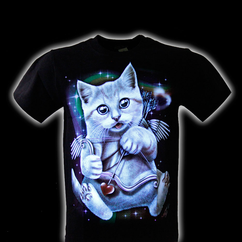 T-shirt Noctilucent Jupiter Cat
