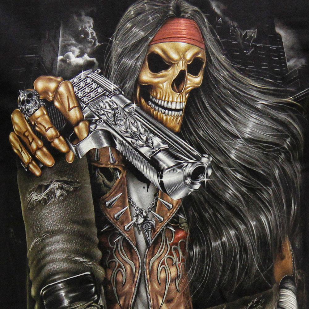 T-shirt Noctilucent Gunslinger
