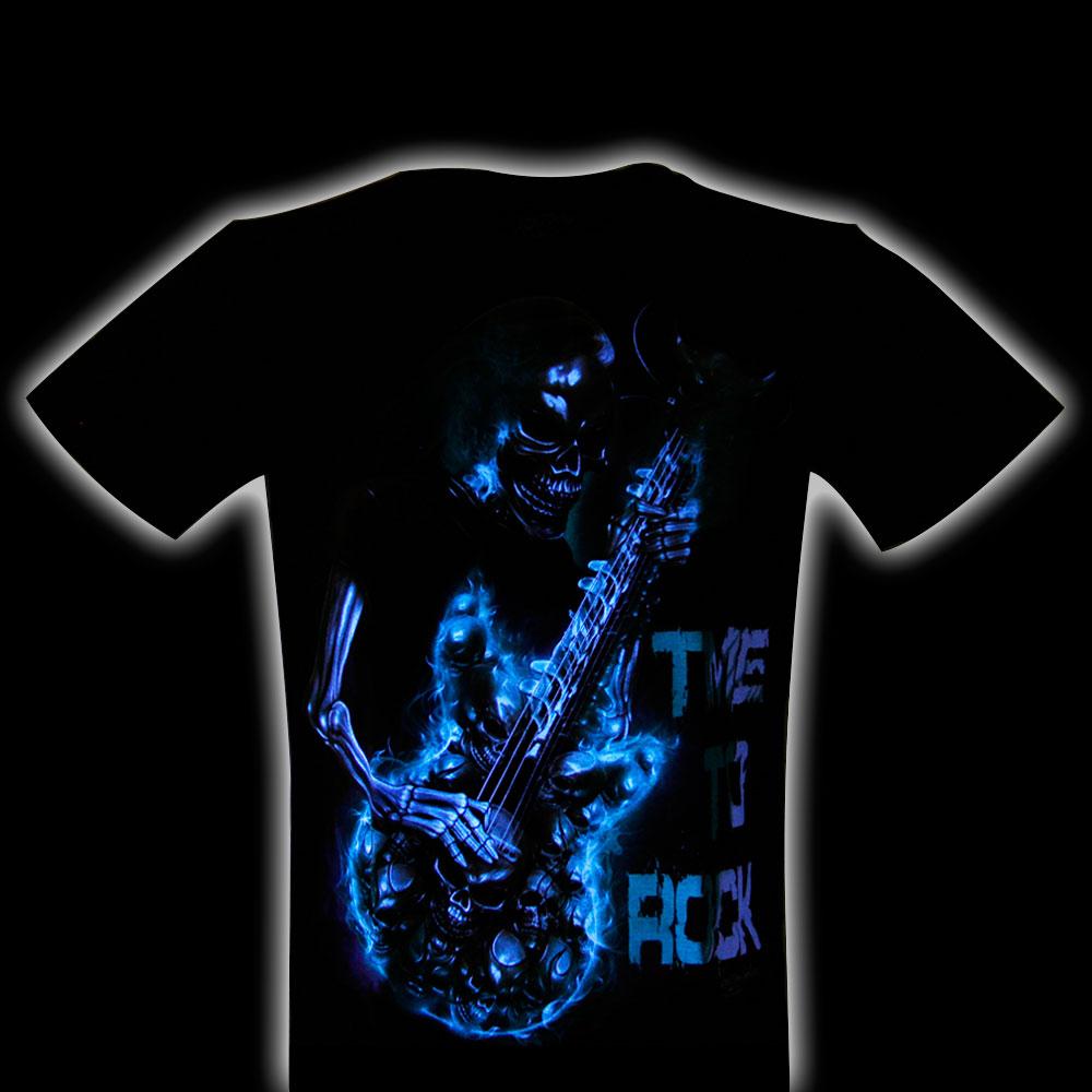 T-shirt Glow in the Dark Skull