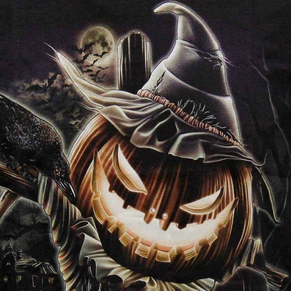 T-shirt Noctilucent Halloween Pumpkin