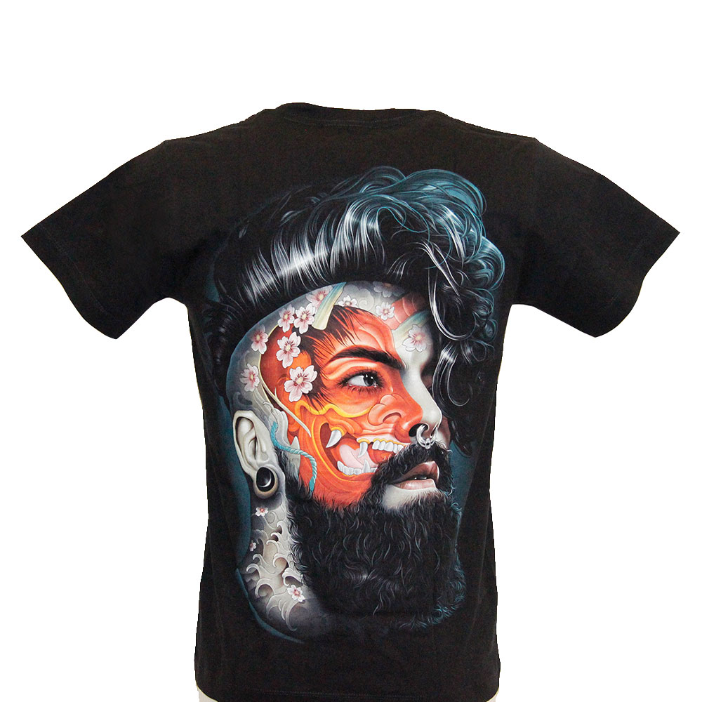 T-shirt Noctilucent Tattooed Man
