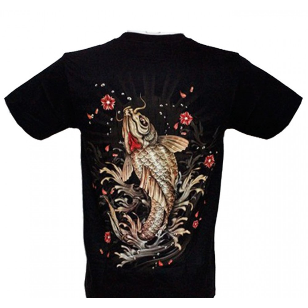 T-shirt Noctilucent Carp