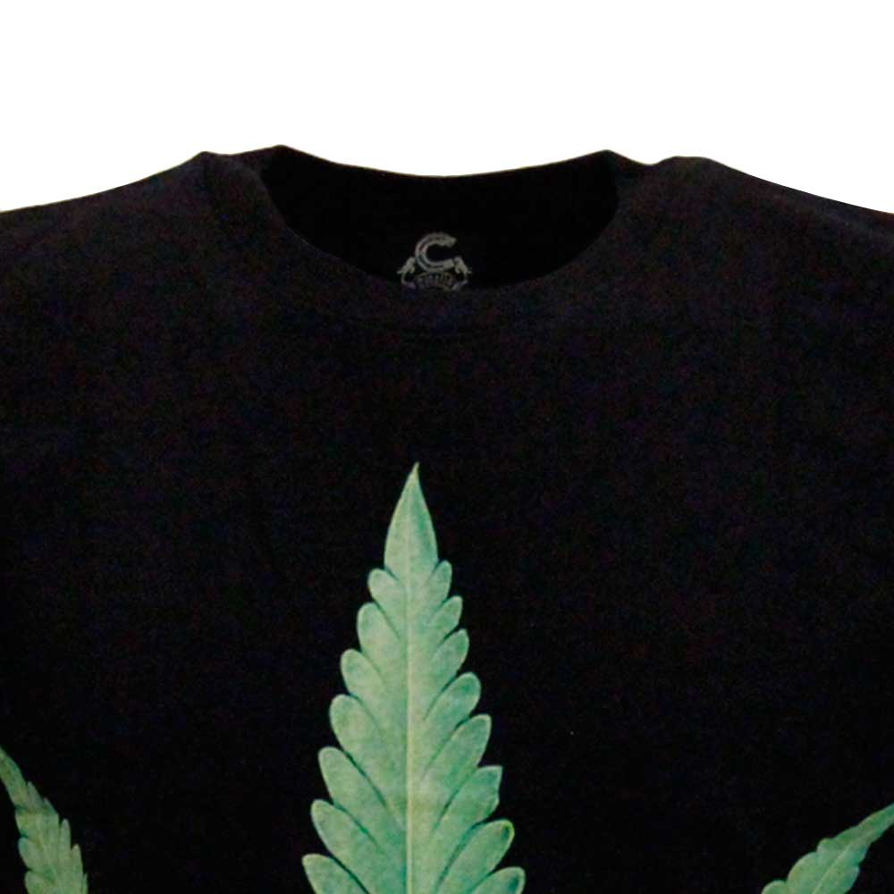 T-shirt Leaf Glow in the Dark