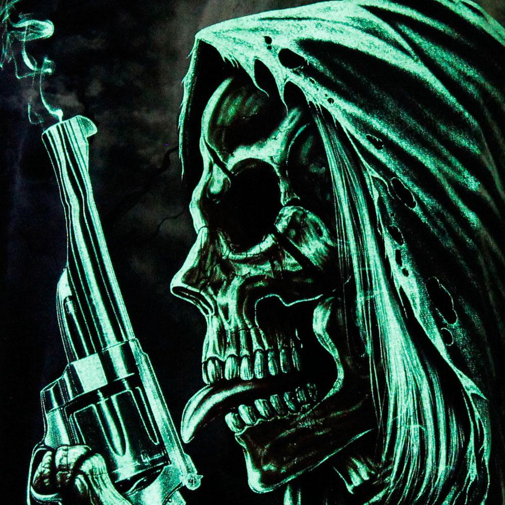 T-shirt Noctilucent Skeleton with Pistal