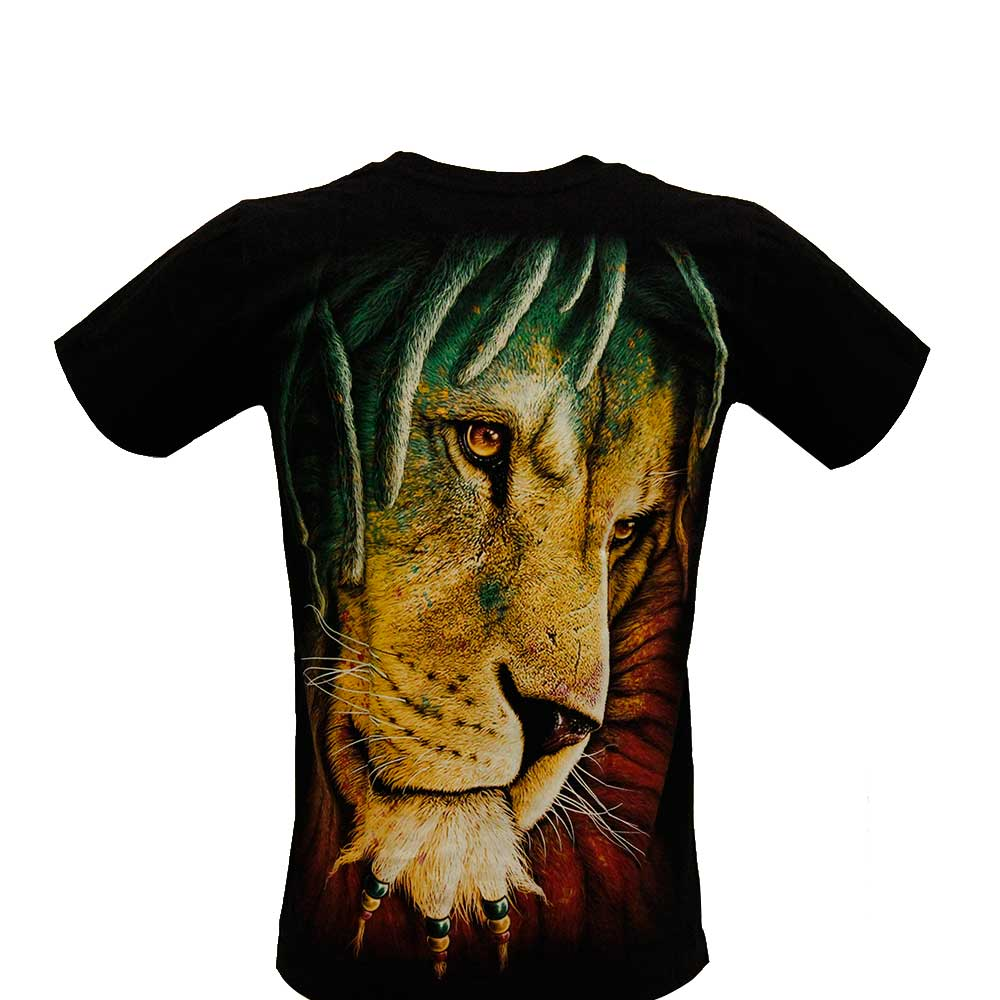 T-shirt Noctilucent Indian Lion