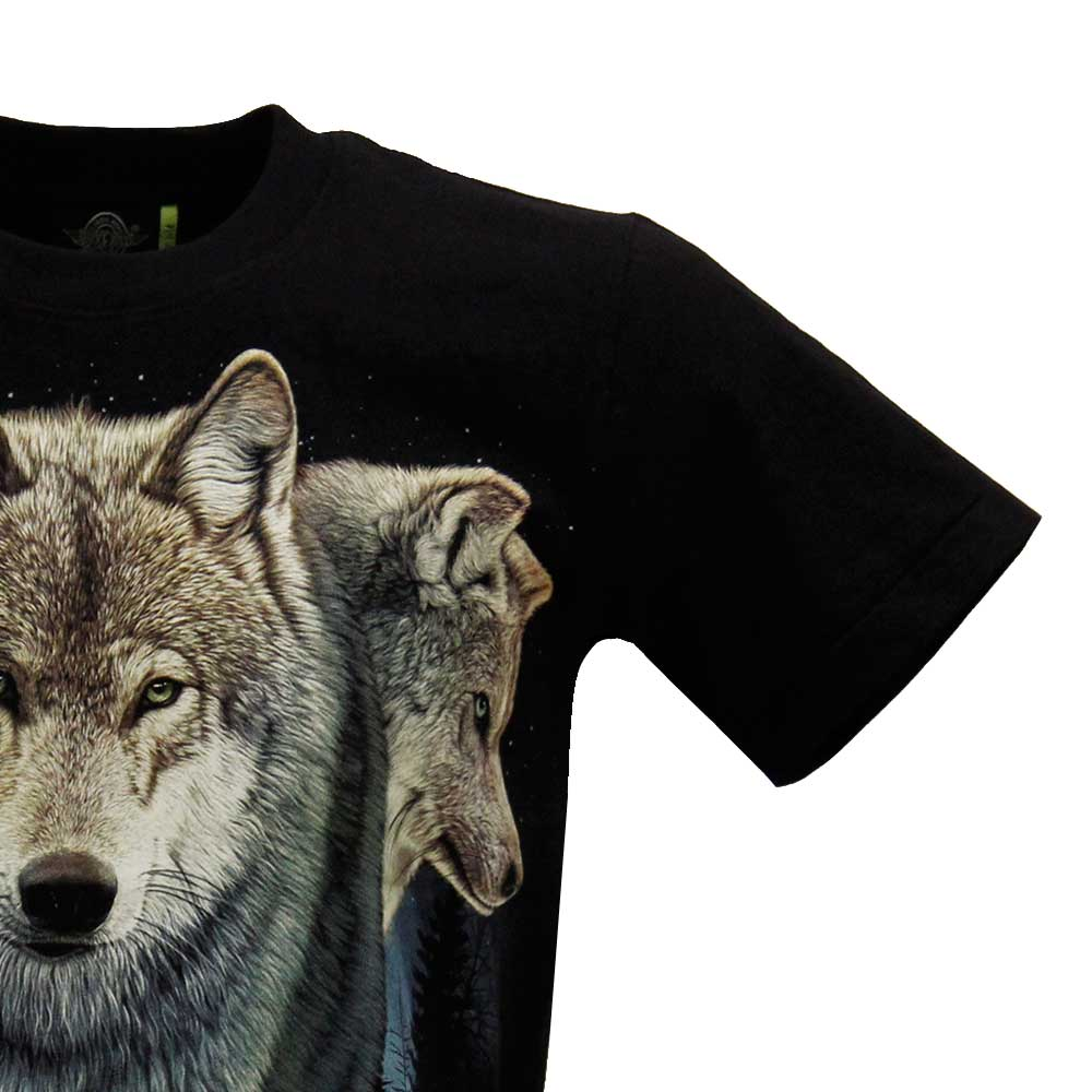 T-shirt Noctilucent Wolf