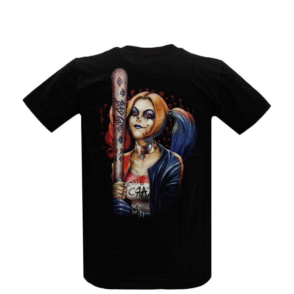 T-shirt Harley Quinn Glow in the Dark