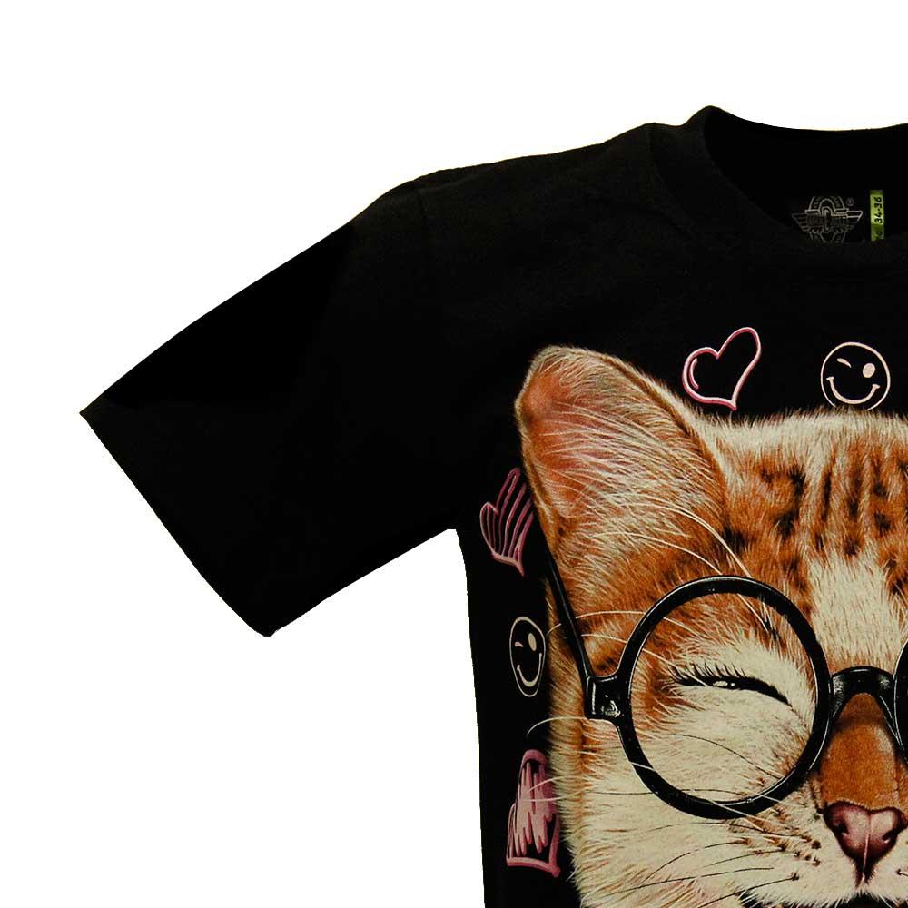 T-shirt Noctilucent Cat