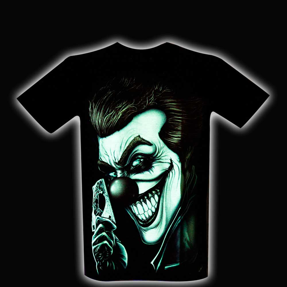 T-shirt Joker Glow in the Dark