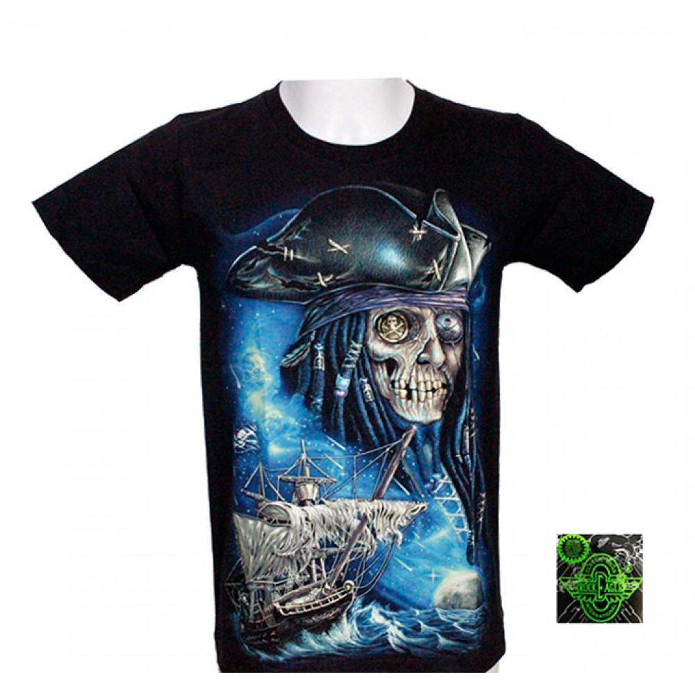 T-shirt Noctilucent Pirate