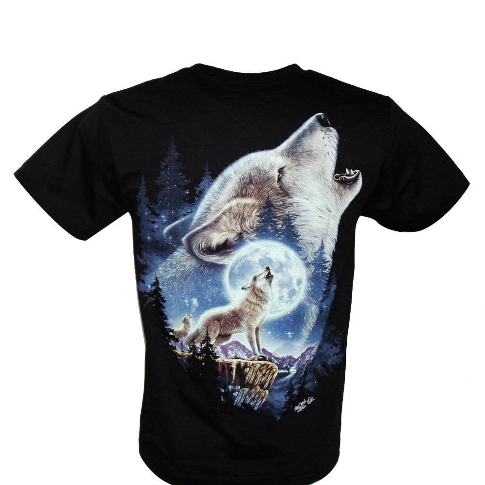 T-shirt HD Wolves