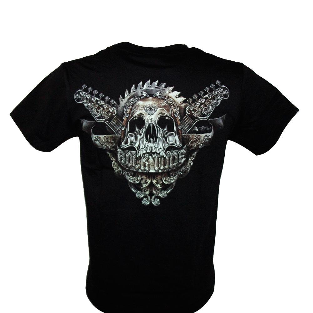 T-shirt HD Guitar Skull