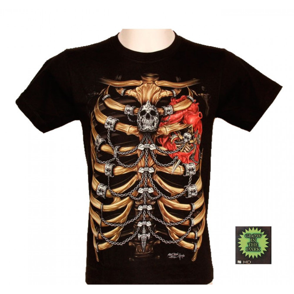 T-shirt HD Skeleton