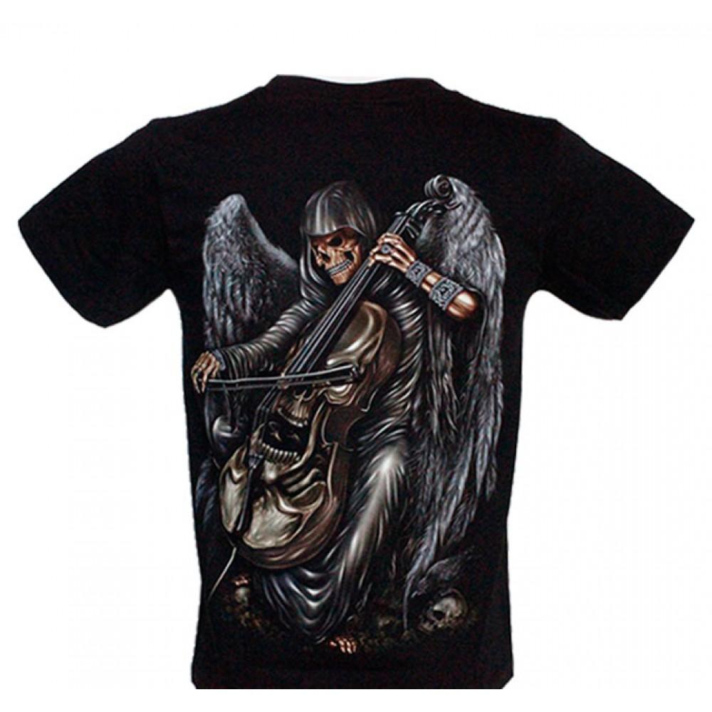 T-shirt HD Skeleton and Violin