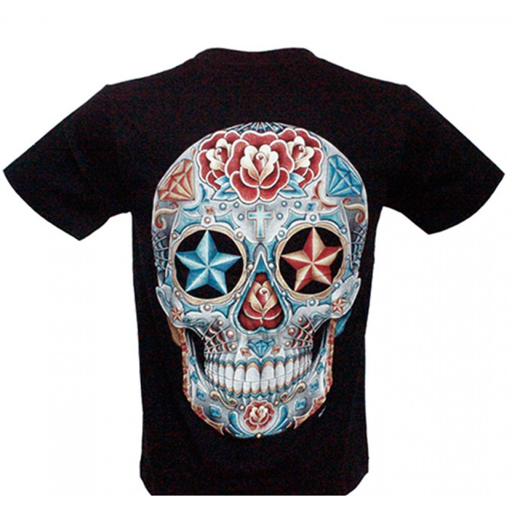 T-shirt HD Skull