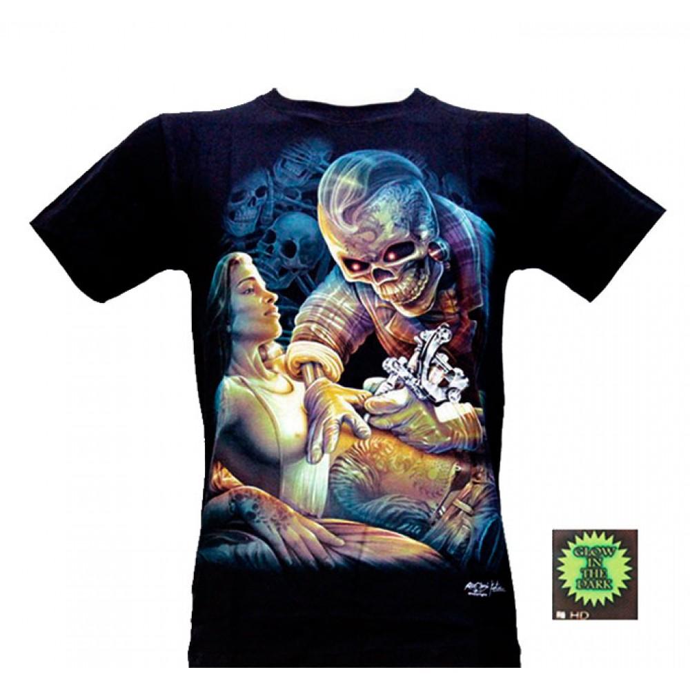 T-shirt HD Death Tattoo