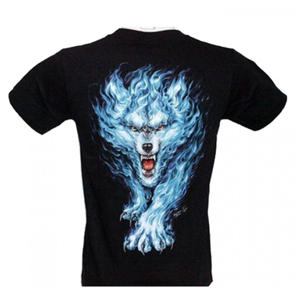 T-shirt HD Wolf