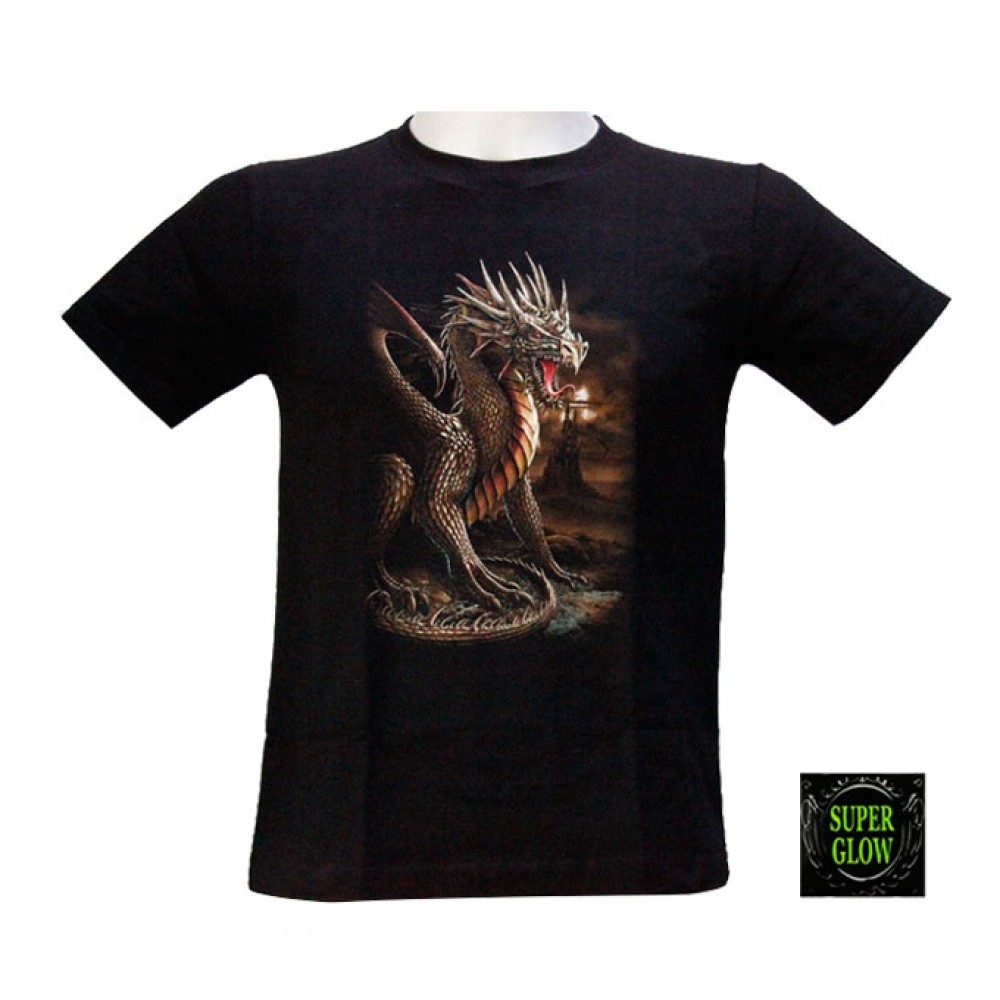 T-shirt Noctilucent Dragon Kid