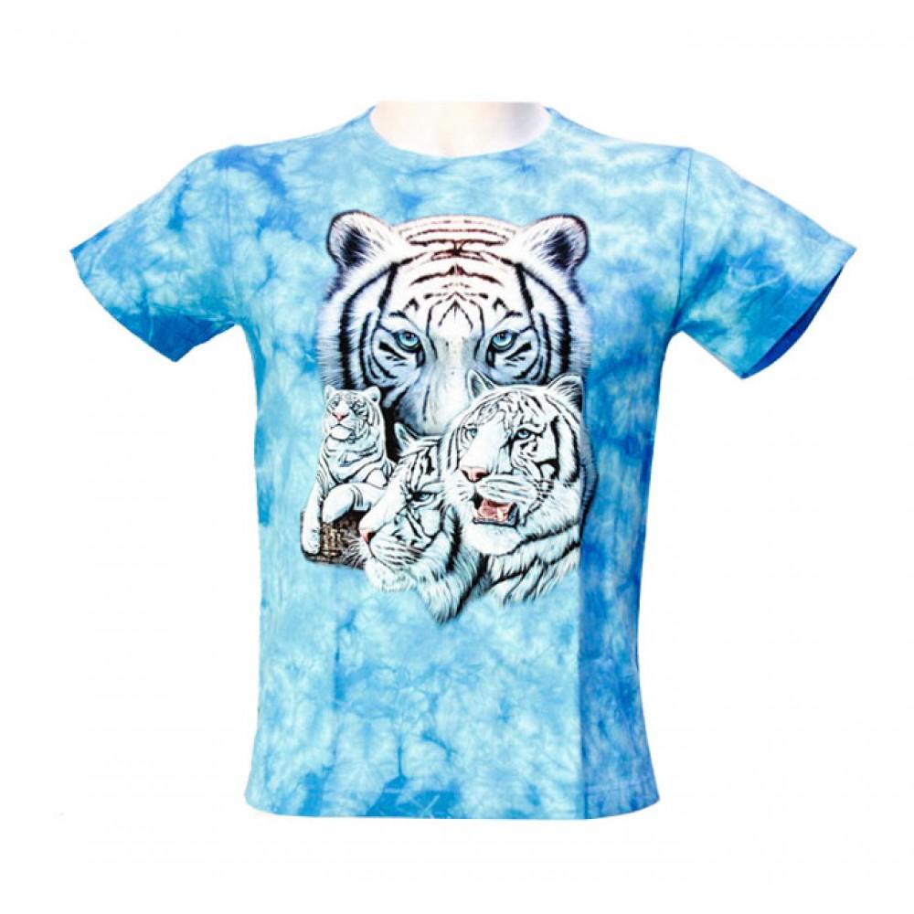 T-shirt Kid Tie-dye Tiger