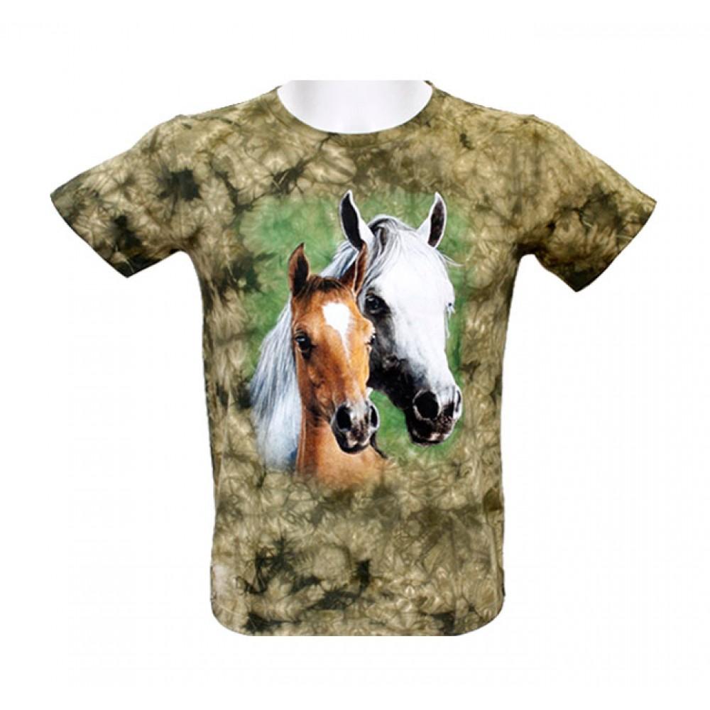T-shirt Kid Tie-dye Horse