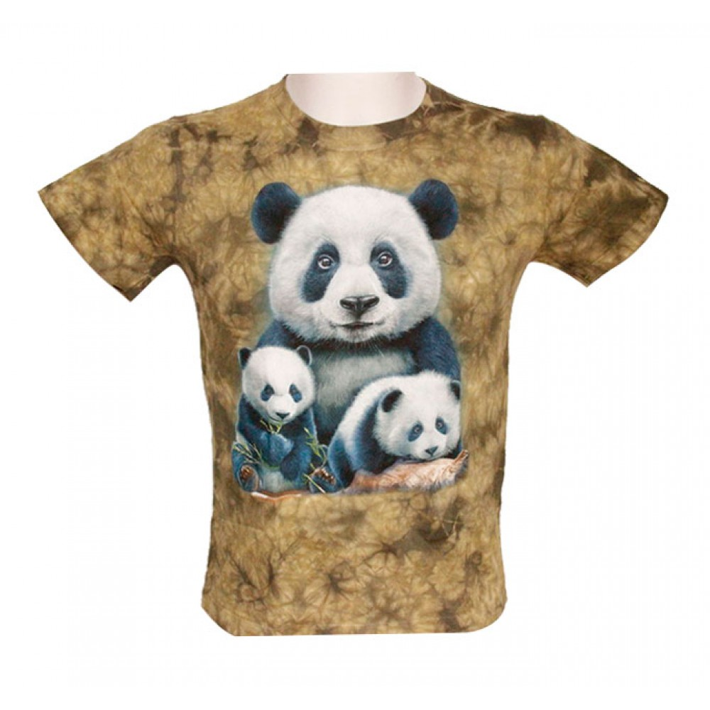 T-shirt Kid Tie-dye Panda