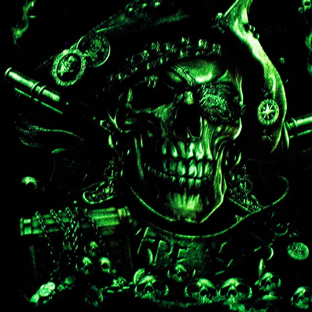T-shirt Noctilucent Skull Kid